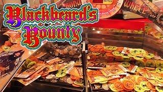 Blackbeard's Bounty Coin Pusher Jackpot!