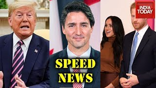 Speed News | Top International News | India Today | January 18, 2020