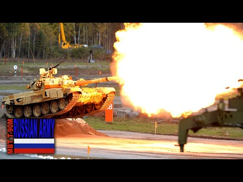 The Upgraded T-90M Tank Can Become The MBT For The Russian Army