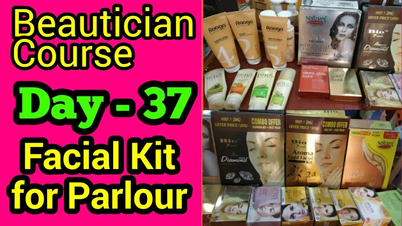 Best Facial Kits for all Skin Types    Affordable    Beautician Course, Day  - 37    Neha Beauty Hub - hlub.video
