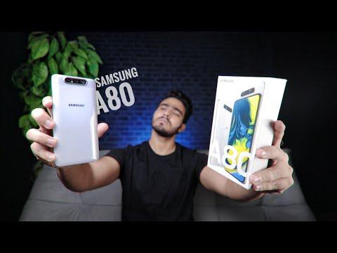 نظرة اولية و تجربة مخيفة | Samsung Galaxy A80