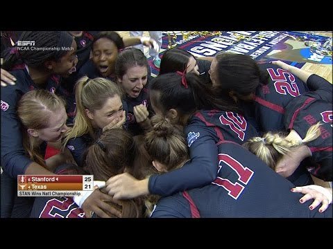 Highlights: Stanford women's volleyball captures seventh NCAA title with win over Texas