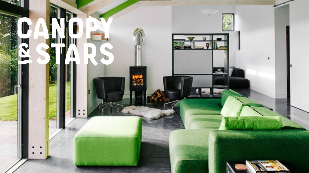 The Chickenshed - Sawdayu0027s Canopy u0026 Stars | Cabin in Wales & The Chickenshed - Sawdayu0027s Canopy u0026 Stars | Cabin in Wales - YouTube