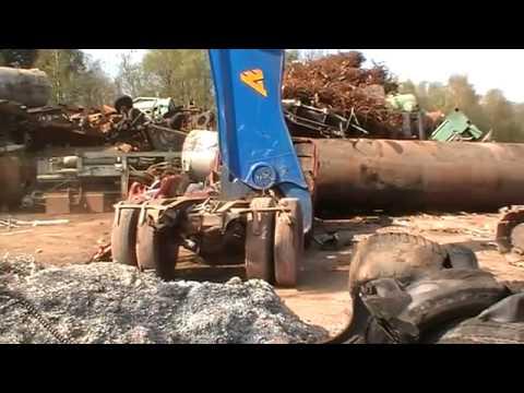 Гидроножницы ARDEN - утилизация автомобилей и грузовиков