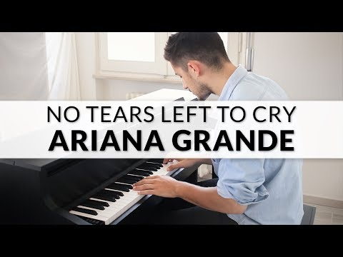 Ariana Grande - No Tears Left To Cry | Piano Cover