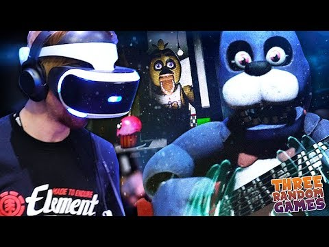 SO I GOT TO CHECK OUT THE NEW FNAF VR: HELP WANTED.. (It's terrifying) - (3RG) thumbnail