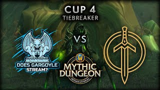 Golden Guardians vs Does Gargoyle Stream? | Tiebreaker | MDI Shadowlands Cup 4