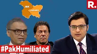 #PakHumiliated At UNSC Again   The Debate With Arnab Goswami