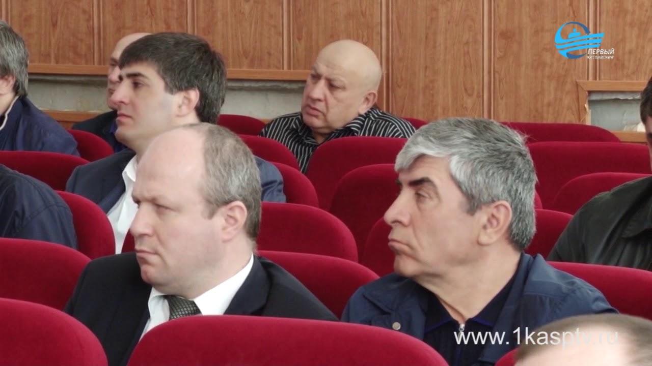 Итоги минувшей недели обсудили на еженедельном аппаратном совещании в Администрации г.Каспийск
