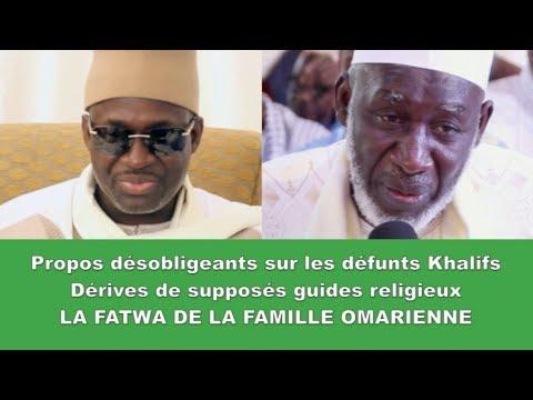 Propos désobligeants sur les défunts Khalifs, Dérives de supposés chefs religieux: La FATWA DE …