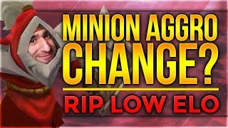 Minion Aggro Change? RIP LOW ELO??? [League of Legends] [Deutsch / German]