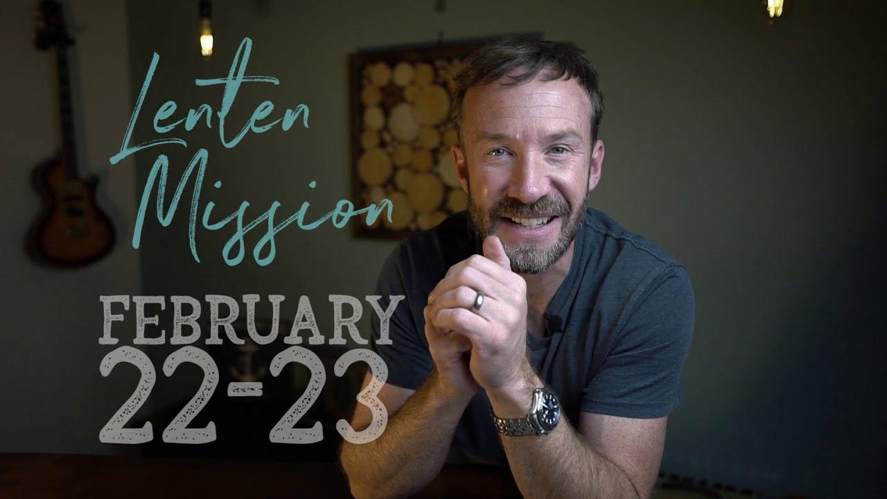 Windswept Lenten Mission  2021 Promo | St. Ann | Gulf Breeze, Florida