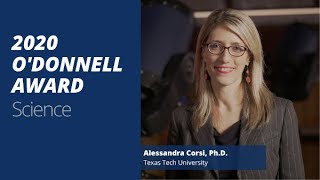 TAMEST 2020 O'Donnell Award in Science: Alessandra Corsi, Ph.D.