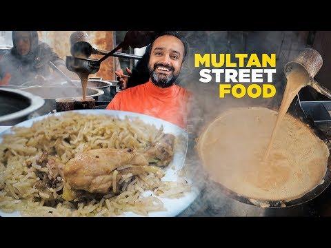 Multan Street Food | Bali ki Chai, Yakhni Pulao & Dilmeer ki Paira Lassi | Pakistani Food