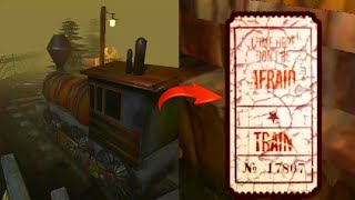 How to find and use the Train Ticket ( Death Park New Horror Game )