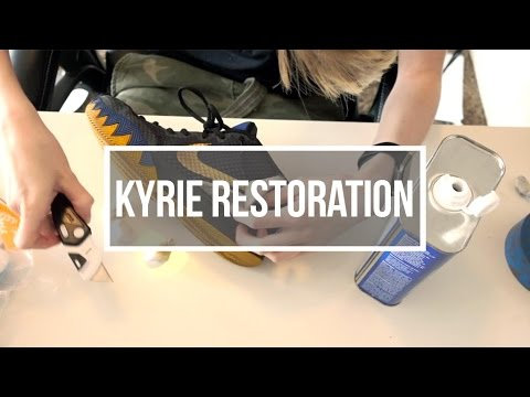 How to Restore Your Kyrie 1's (SPIKE RESTORATION) | Emily Yamsek
