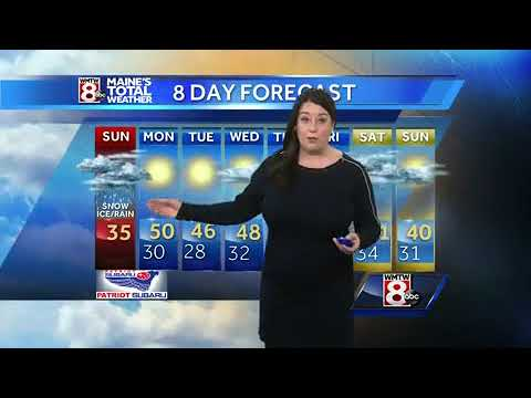 Winter weather advisory – snow and an icy mix lead to slick travel Sunday