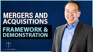 mergers and acquisition case interview demo video 11 of 12