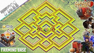 New UPDATED TH11 Base 2018 with Tornado trap Updated th11 Farming Base Clash of Clans