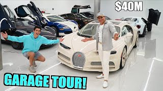 Latest HYPERCAR Garage Tour With Manny Khoshbin ($40 Million Collection)