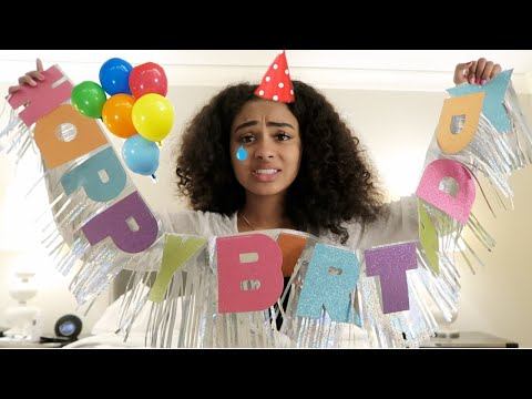 throwing myself a birthday party ft. self love thumbnail