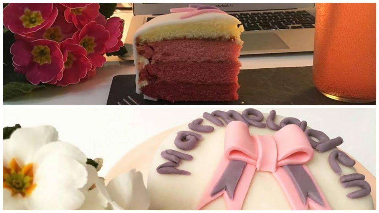 Erdbeer Lavendel Buttercremetorte Marmeladenherz Youtube