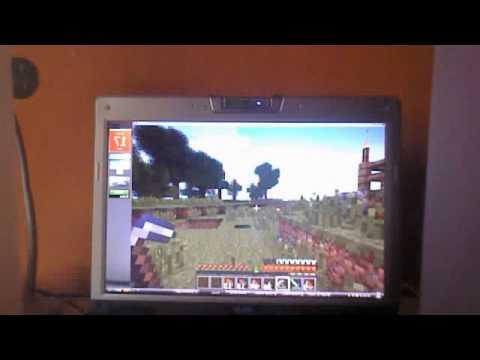 Minecraft Glitch pioche dans la main gauche