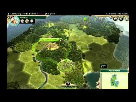 Let's Play Civilization 5 BNW Part 1 (Expositions and Landfall)