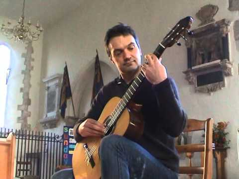 "The Cuckoo in the Grove, traditional Scottish air used for ""Skye Boat Song"" arr. classical guitar"