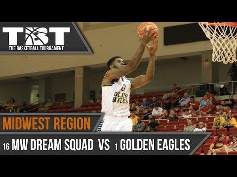 2017 TBT Midwest Region Recap - #16 Midwest Dream Squad vs. #1 Golden Eagles Alumni