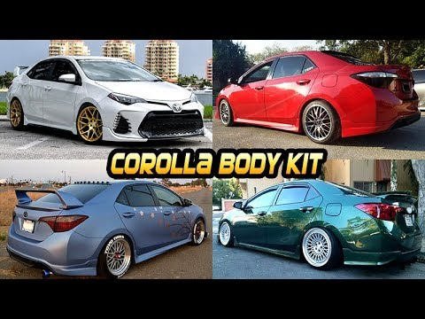 Closed Corolla Full Body Kit Giveaway 2014 2018 S Se Xse L Le