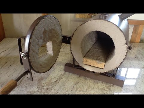 my custom blacksmith propane forge build start to finish - Homemade Propane Forge Design