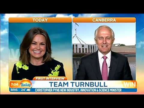 Interview with Lisa Wilkinson, Today Show, Monday 21 September 2015