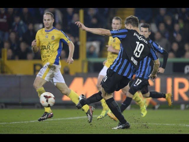 2014-2015 - Club Brugge - Waasland-Beveren - GOAL Thomas Meunier