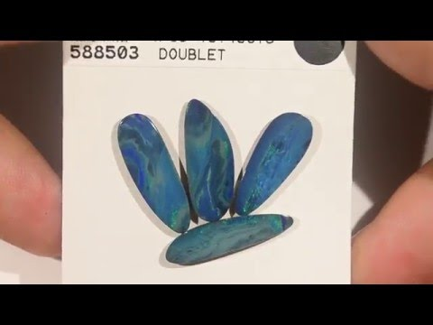 10.43cts Opal Doublets