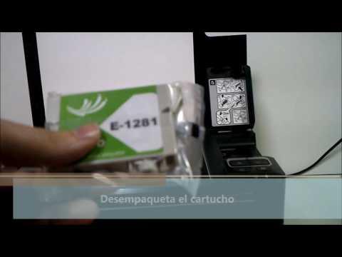¿Como cambiar cartuchos Epson SX130? Quecartucho