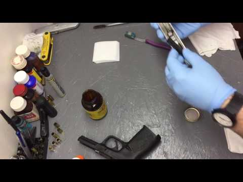 SD9 VE : Field strip, Cleaning, and Lubrication (Quick and easy method).