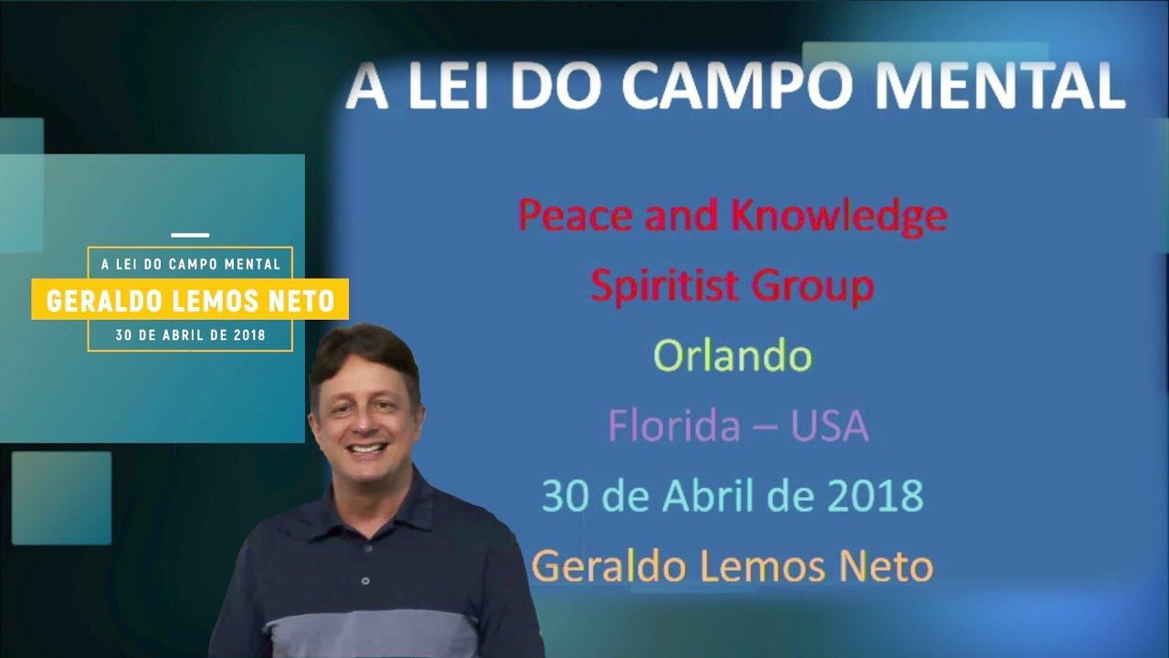 A lei do Campo Mental   Geraldo Lemos Neto