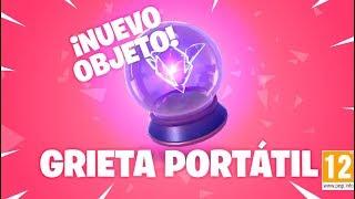 JUGANDO con NUEVA *GRIETA PORTATIL* | FORTNITE: Battle Royale