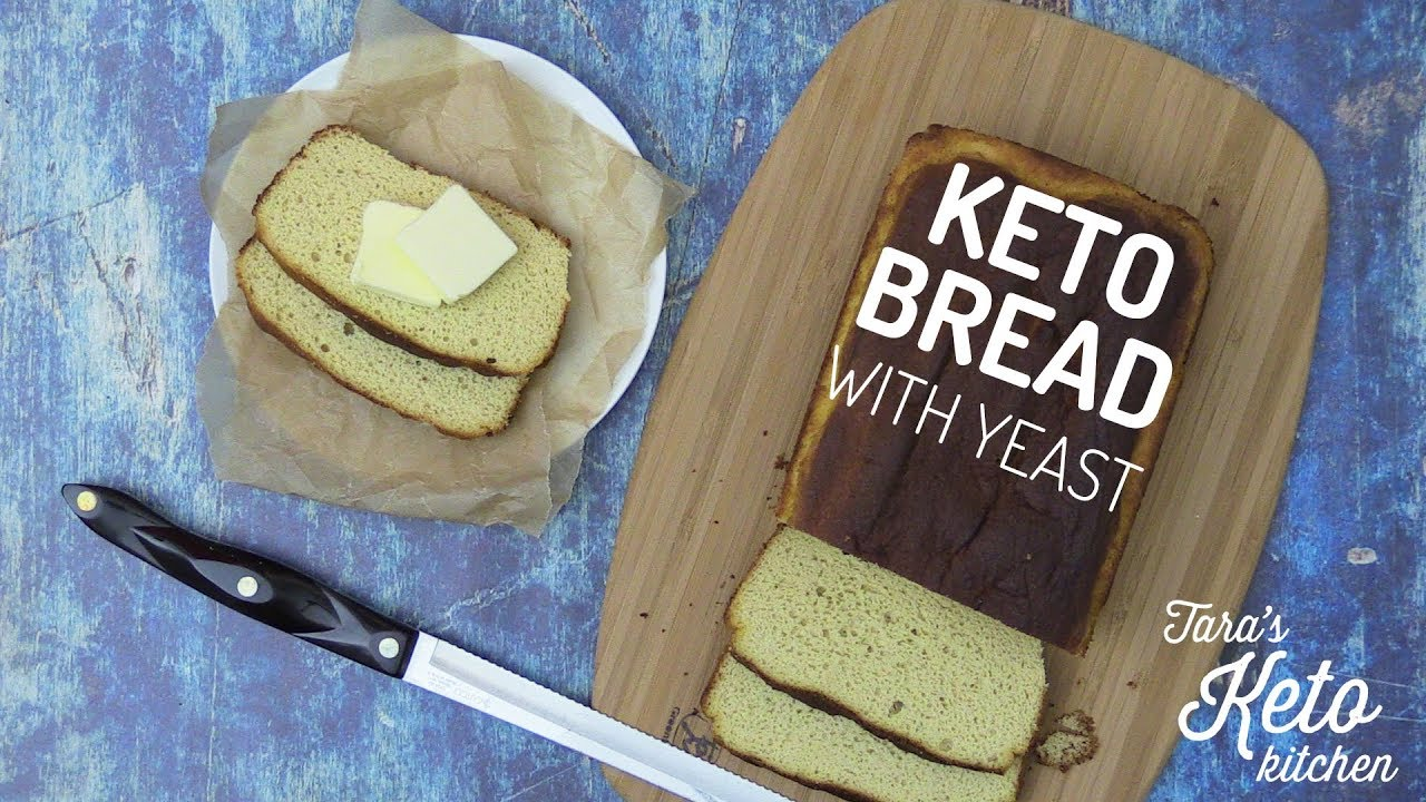 The Best Keto Bread Recipe Coconut Flour Keto Bread With Yeast 😍 Grain Free Dairy Free