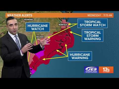Tropics Update: Tracking Hurricane Florence, Wednesday, September 12, 2018
