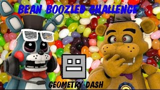WORST JELLY BEANS EVER!!! | Bean Boozled Challenge VS Geometry Dash! (With Zack)