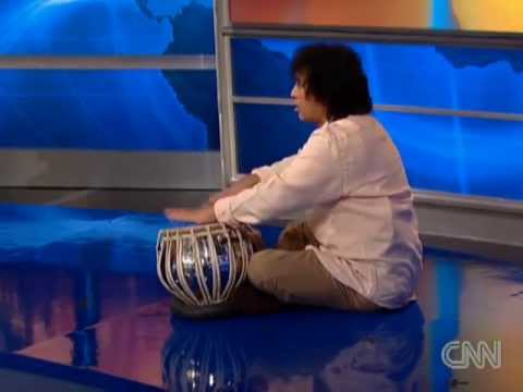 Ustad Zakir Hussain Interview - what is Tabla (Indian Drums - Musical Instrument)