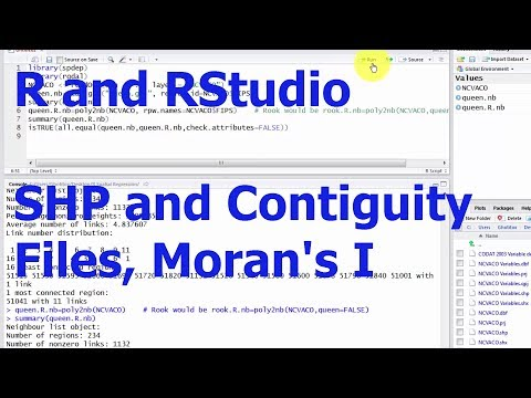 R Spatial Data 1: Read in SHP File - YouTube