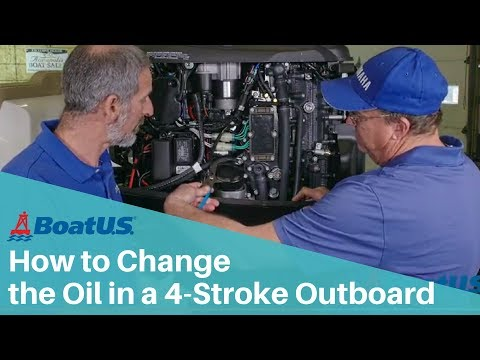 How to Change the Engine Oil on a Four-Stroke Outboard | BoatUS