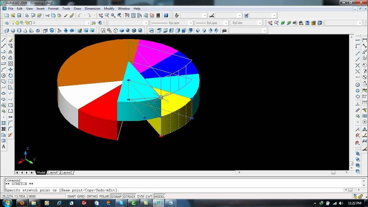 autocad 2006 3d tutorial pdf