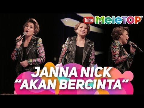 Tak sangka Janna Nick boleh menyanyi juga I Akan Bercinta | Persembahan LIVE MeleTOP