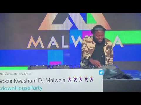 #Lockdownhouseparty: 🔥Dj Malwela 🔥Shutting it down with Amapiano💃🏽💃🏽Ayeye🔥