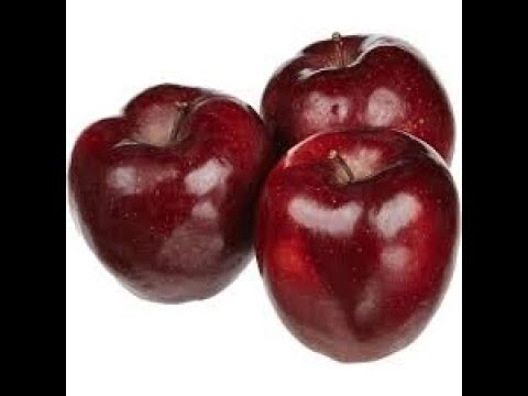 Яблоки RED CHIF самые вкусные !!! / RED CHIF apples are the most DELICIOUS !!!
