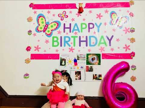 Special gift for my beloved niece~ Happy 1st birthday to you!!